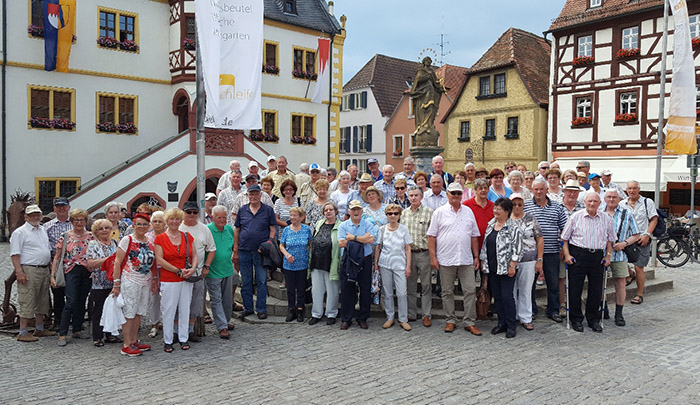 Seniorenfahrt Des Ortsbeirates Loschenrod Nach Volkach Fotos